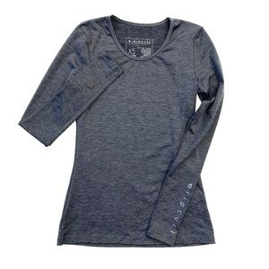 Rip Curl Gray Long Sleeve UV Protection Top